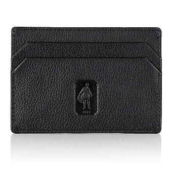 Black Malvern Leather Slim Card Holder