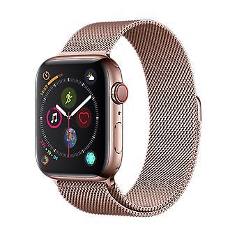 Apple Watch 42/44MM stropp Rose Gull - Milanese