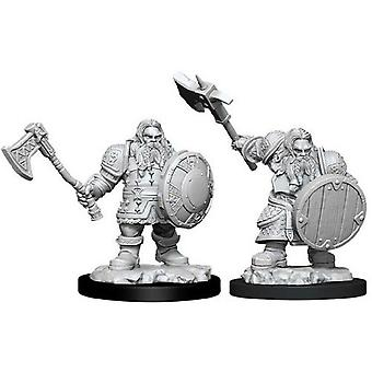 D&D Nolzur's Marvelous Unfnted Minis Male Dwarf Fighter
