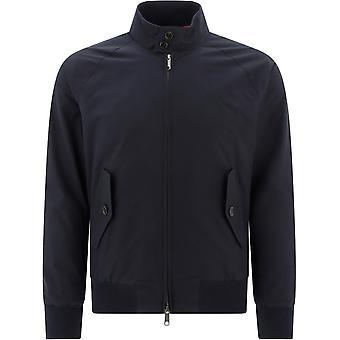 Baracuta Brcps0001bcny1300 Men's Blue Cotton Outerwear Jacket