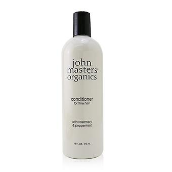 John Masters Organics Conditioner For Fine Hair with Rosemary & Peppermint 473ml/16oz