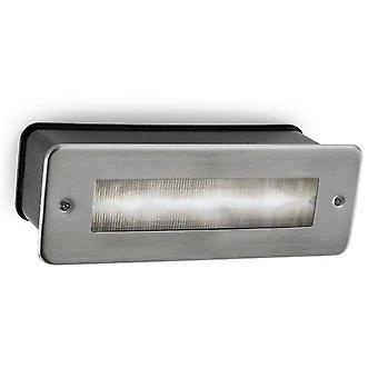 LED Outdoor Wall Light Acciaio inox AISI 316 IP65