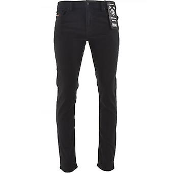 Diesel Slim Fit Stretch Thommer X Black Jean 32