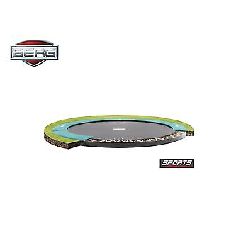 BERG FlatGround Champion 380 12.5ft Trampoline Sports Series Grey