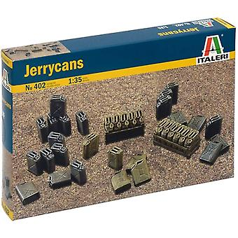 Italeri 402 Wwii Jerrycans Model Kit