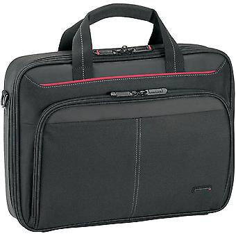 Targus Classic Clamshell Laptop Bag especificamente projetado para caber até 12-13,4 polegadas preto CN313