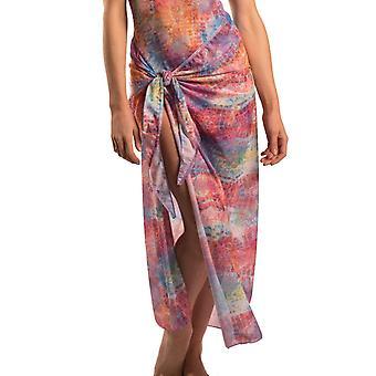 Siena tan through beach sarong