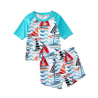 Baby Swimwear Toddler Kids Boy Bathing Suit Bikini Set