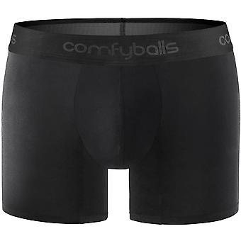 Comfyballs Performance Superlight Long Boxer - Pitch Black