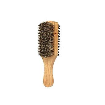 Men's Beard Brush With Double Sided - Facial Hair Brush Shaving Comb For Male