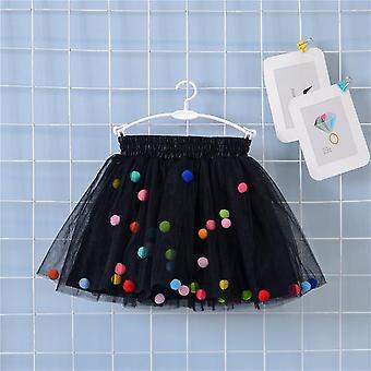 Jupe multicouche Coloré Pom, Princesse Mini Robe Pour Set-2