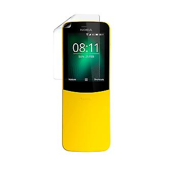 Celicious Vivid Plus Mild Anti-Glare Screen Protector Film Compatible with Nokia 8110 4G [Pack of 2]