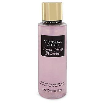 Victoria's secret velvet petals shimmer fragrance mist spray by victoria's secret 551372 248 ml