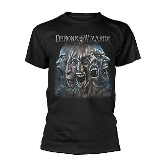 Demons & Wizards Split T-Shirt
