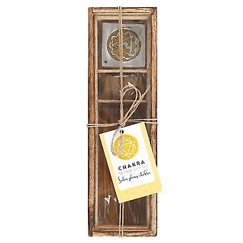 Something Different Solar Plexus Chakra Wooden Incense Gift Set