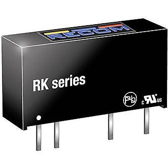 RECOM RK-0512S Convertidor CC/CC (impresión) 12 84 mA 1 W No. de salidas: 1 x