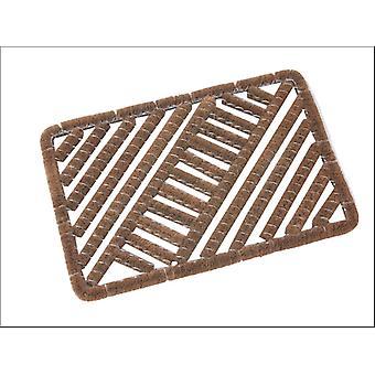 Kent & Co Twines Brecon Wire/coir Scraper Mat