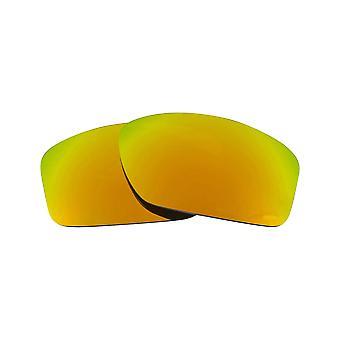 العدسات البديلة المستقطبة لصمام أوكلي النظارات الشمسية المضادة للخدش الذهب