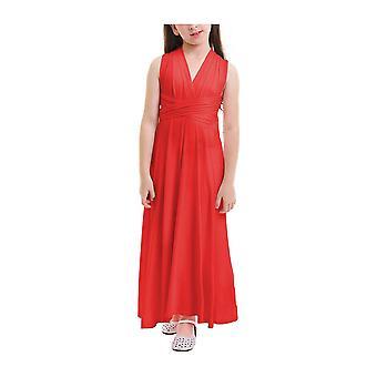 Květina Dívka Vícecestné zábal šaty kabriolet děti družička svatební dlouhé šaty