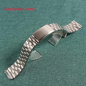 Watch Silver Stainless Steel Watch Strap Band Bracelet Clasp