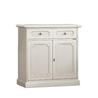 Credenzina in Lacquered Wood 2 Doors 1 drawer