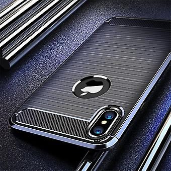 Carbon Fiber Case For Iphone Se Silicon Protective Cover