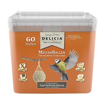 FRUNOL DELICIA® Delicia® Meisenballen, 60 pièces