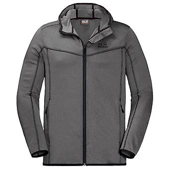Jack Wolfskin Sutherland Hooded Jacket Mens Zip Up Track Top 1706611 6011