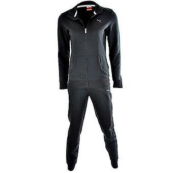 Puma الأساسية النساء البدلة العرق الكامل البدلة إلى & قيعان الأسود 831824 01 A56E