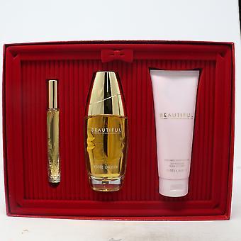Estee Lauder schöne Deluxe Kollektion Eau De Parfum 3-Pcs Geschenk Set neu