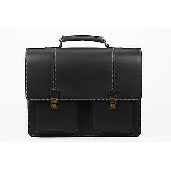 The walker executive laptop traveler leather bag