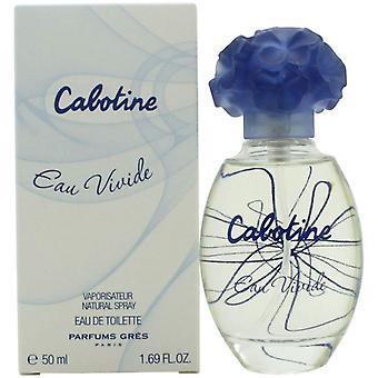Gres Parfums Cabotine Eau Vivide Eau de Toilette Spray for Women 50 ml