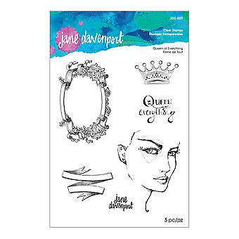Spellbinders Queen of Everything Clear Stamps