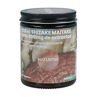 Reishi Shitake Maitake Forte 90 kapsler