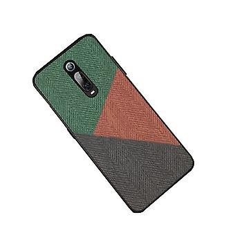 Hårdt stof beskyttende etui til Xiaomi Mi 9 Pro / mix4 Grøn & Brun & Grå