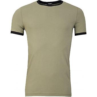 Camiseta do Balmain Crew Neck Ringer