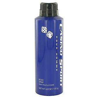 Casino Sport by Casino Perfumes Body Spray (No Cap) 6 oz / 177 ml (Men)