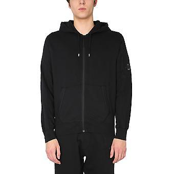 C.p. Företag 10cmss044a002246g999 Män's Svart Bomull Sweatshirt