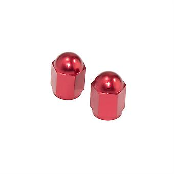 Bike It Hexagon Valve Caps - Red