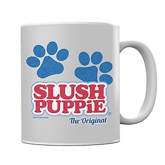 Slush Puppie Paws Logo The Original Mug