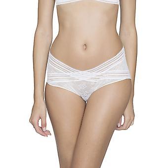 Miss Lejaby lirio blanco encaje bragas Panty breve completa de Maison Lejaby 16464-801 mujeres
