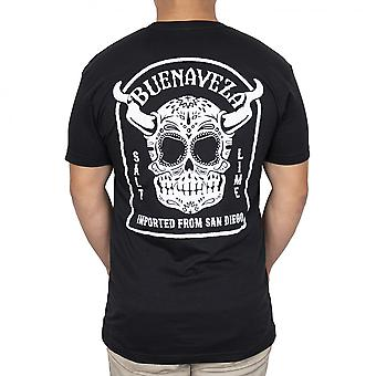 Stone Brouwerij Buenaveza Voor- en Achterkant Print T-shirt