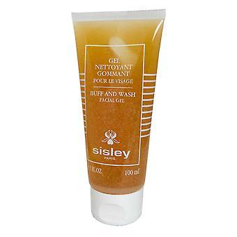 Sisley Buff og Vask Facial Gel 100ml Botaniske Ekstrakter