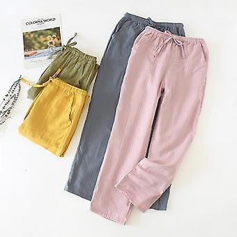 Women's Pants Solid Color Trousers