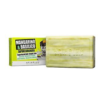 Organic Mandarin and Basil Soap 150 g