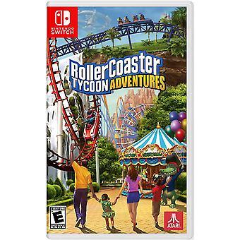 RollerCoaster Tycoon Adventure Nintendo Switch Game (#)
