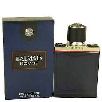 Balmain Homme By Pierre Balmain Eau De Toilette Spray 3.4 Oz (men) V728-535121
