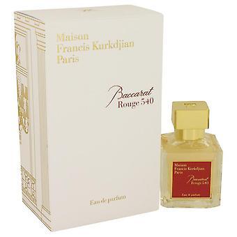 Baccarat Rouge 540 Eau De Parfum Spray By Maison Francis Kurkdjian 2.4 oz Eau De Parfum Spray