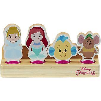 Disney Princess Wooden 4 Figure Set