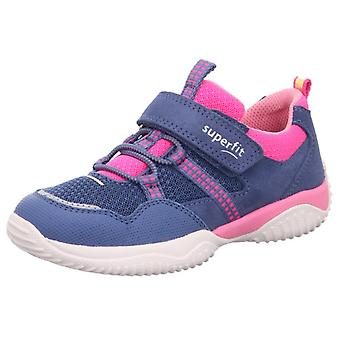 Superfit Girls Storm 6384-801 Trainers Blue Pink Neon